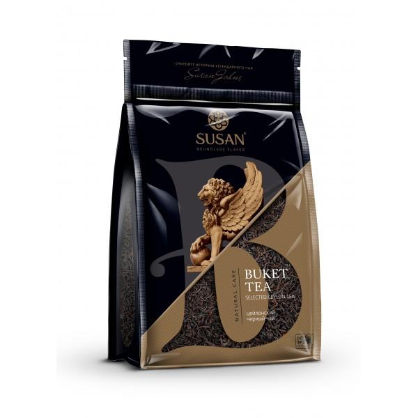 Susan черный чай в мягкой упаковке STD BUKET 200г