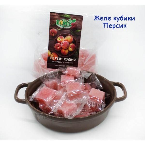 Конфеты Желейные с/в персика 500г
