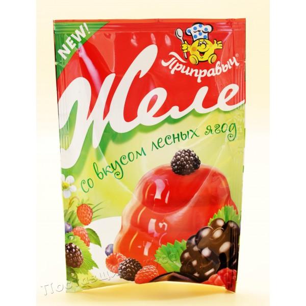 Желе Лесные ягоды Приправыч 100 гр