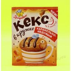 Кекс в кружке Карамельно-медовый